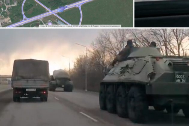 Російські війська стали великим табором недалеко від кордону з Україною — розслідувачі