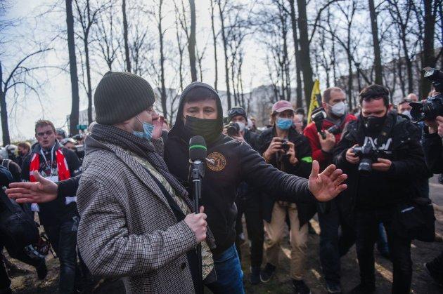 У Варшаві пікетували траурну церемонію до 11-тої річниці загибелі Качинського