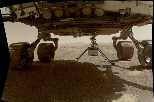 NASA готується до першого польоту земного безпілотника на Марсі