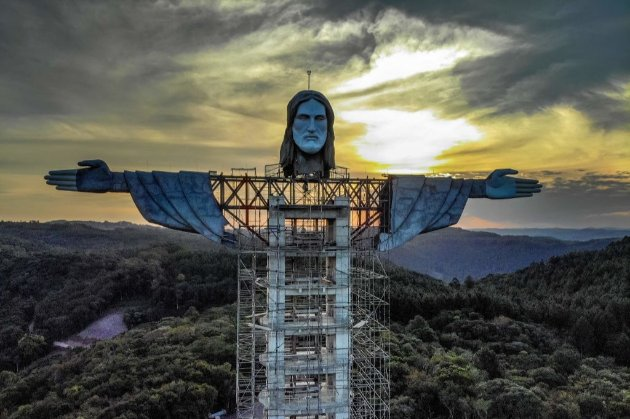 Нова статуя Христа в Бразилії буде вищою за знамениту в Ріо (відео)