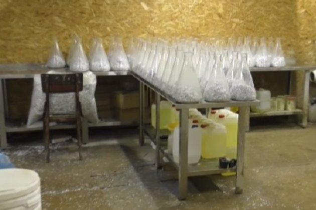 У Дніпрі поліція накрила «наркозавод» з оборотом 120 млн грн щомісяця