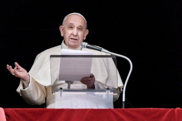 Папа Римський закликав запобігти зростанню напруженості на Донбасі