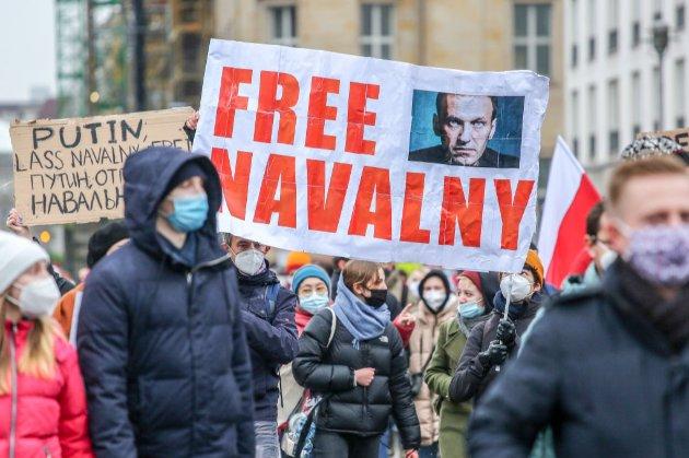 Байден назвав ситуацію з Навальним «абсолютно неприйнятною»