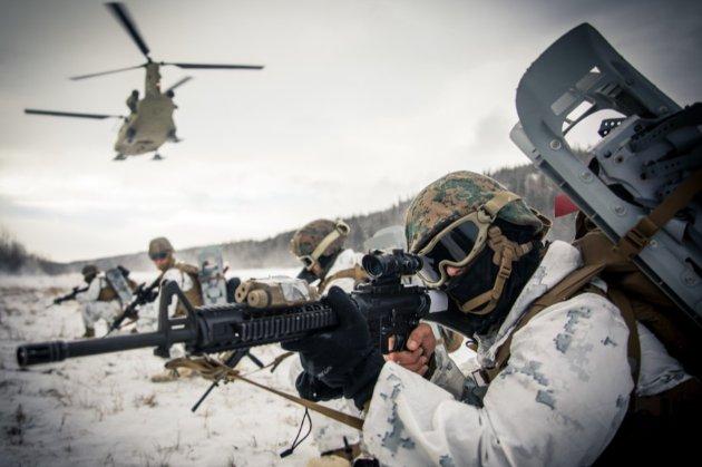 Росія почала військові навчання в Арктиці