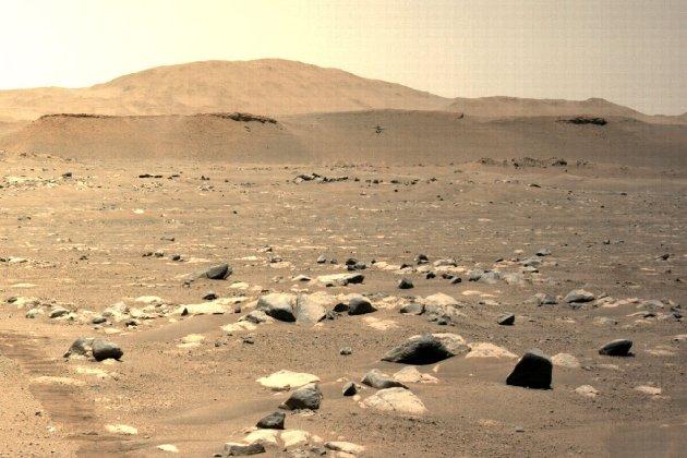 Безпілотник NASA втретє полетів над Марсом і встановив рекорд зі швидкості та відстані