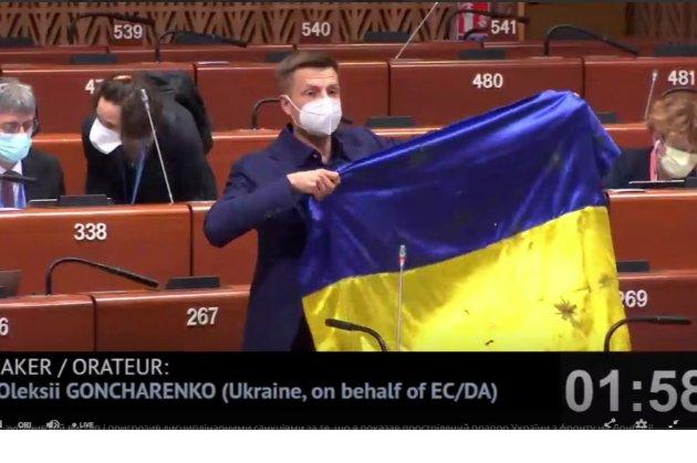 Українська делегація ПАРЄ вважає небезпечними санкції проти свого депутата