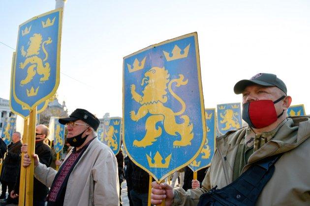 У Зеленського засудили марш до дня створення дивізії «Галичина»