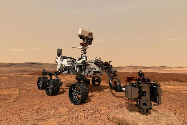 Perseverance вперше записав звуки іншого космічного корабля на Марсі