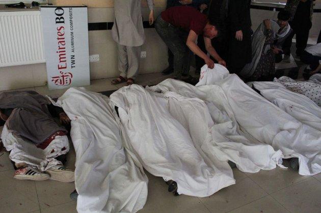 В Кабулі внаслідок вибуху біля школи померли 55 людей