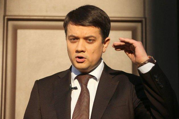 Голова Верховної Ради Разумков ледве не розбився на вертольоті