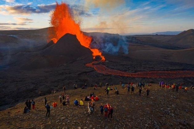 В Ісландії виставили на продаж земельну ділянку з діючим вулканом