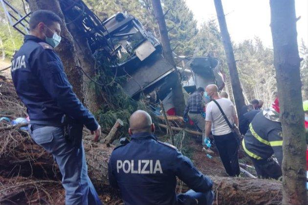 В Італії обірвалася кабіна на канатній дорозі. Є загиблі