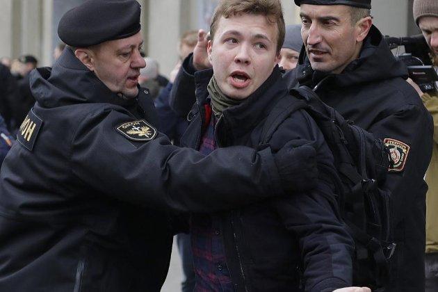 Затримання Протасевича. ЄС, США та ООН засудили дії білоруського режиму (оновлено)