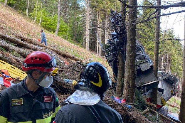 До аварії на канатній дорозі в Італії призвело недбале ставлення до безпеки