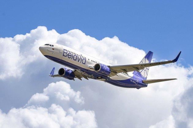 Літак «Бєлавіа» рейсу Мінськ — Барселона не пустили в ЄС