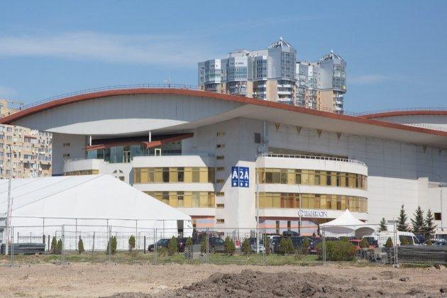 У Києві відкривають центр вакцинації від COVID-19 на базі Міжнародного виставкового центру