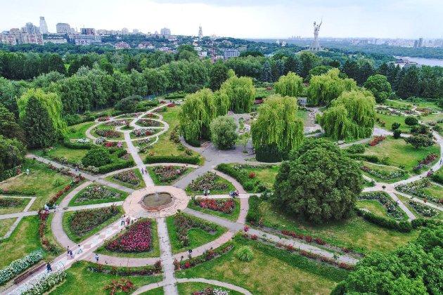 Фотоісторія. 29 травня 1964 року у Києві відкрили найбільший в СРСР ботанічний сад