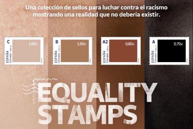 Іспанія випустила марки проти расизму. І потрапила у расистський скандал