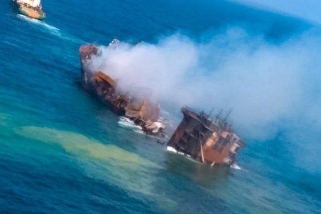 Біля берегів Шрі-Ланки тоне судно з хімікатами