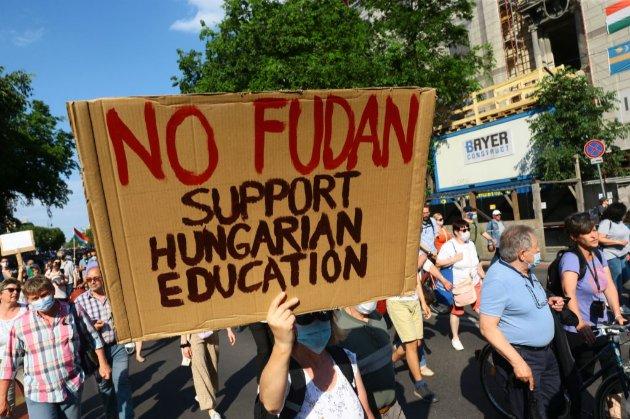 У Будапешті протестують проти будівництва китайського університету