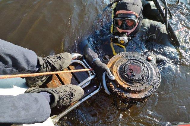 У Києві у Гідропарку знайшли протитанкову міну