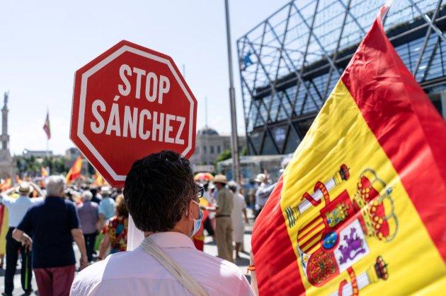 У Мадриді десятки тисяч активістів протестували проти помилування каталонських сепаратистів