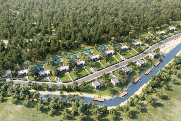 Території резиденцій «Залісся», «Конча-Заспа» та Бирючий острів перетворять на туристичні «магніти»