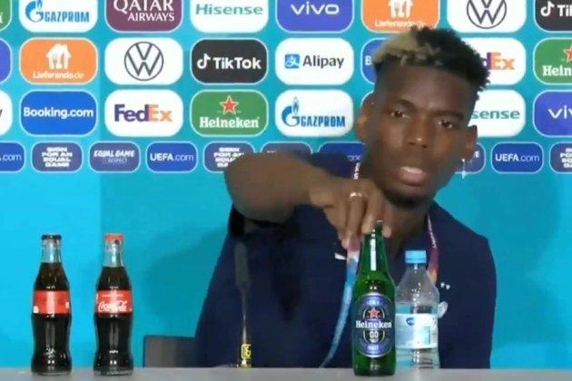 Іще один зірковий футболіст прибрав від себе напій спонсора Євро-2020 (відео)