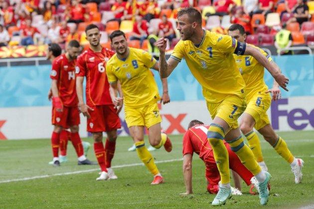 Україна перемогла Північну Македонію на Євро-2020!