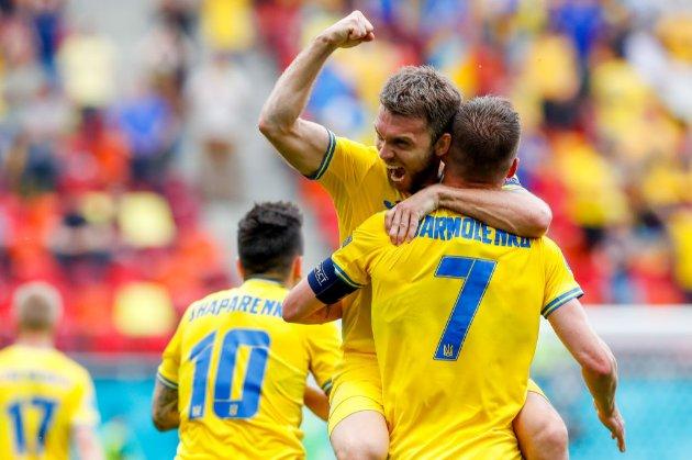 Євро-2020: Україна після першого тайму обігрує Північну Македонію — 2:0