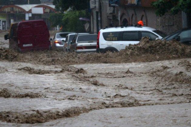 В Ялті через потоп травмувалися 18 людей. Є загиблий