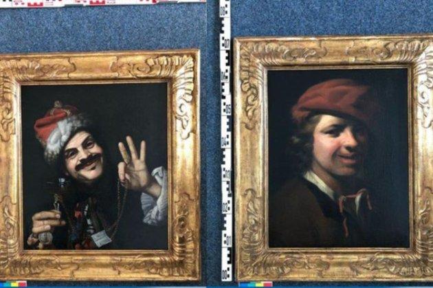 Німець знайшов два цінні полотна XVII століття у смітнику