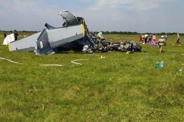 Літак із парашутистами розбився в Росії: є загиблі та поранені