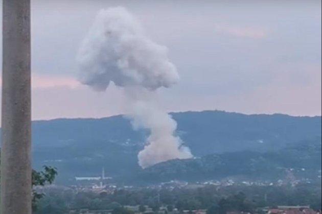У Сербії вдруге за місяць стався вибух на заводі з виробництва боєприпасів