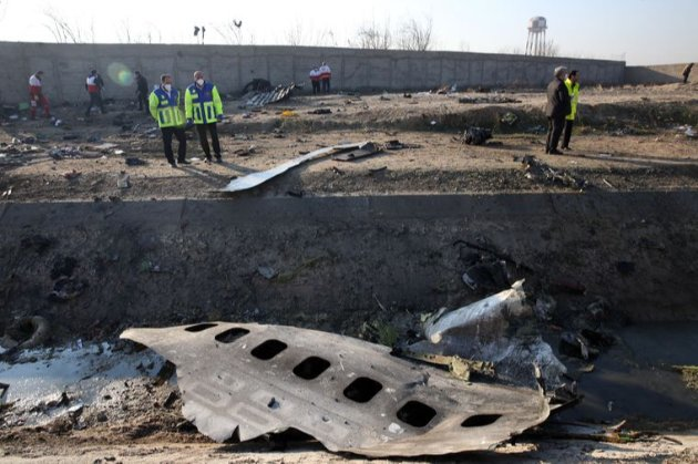 Катастрофа МАУ. Канадська експертиза не підтвердила умисне знищення літака Іраном — ЗМІ