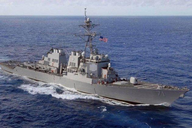 Ракетний есмінець США прямує в Чорне море. Він візьме участь у військових навчаннях Sea Breeze в Україні