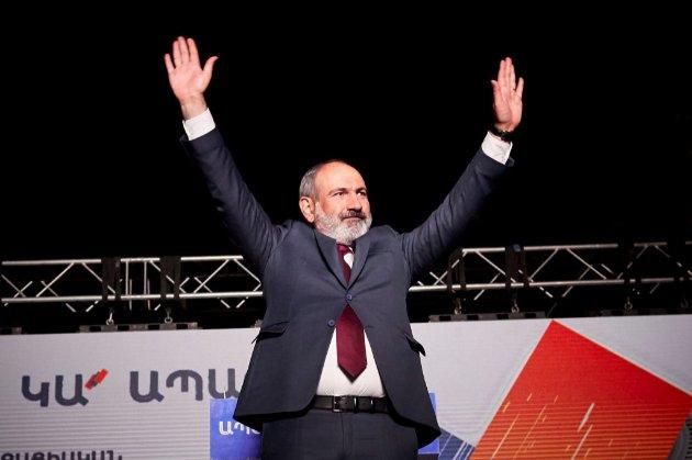 Партія Пашиняна перемогла на парламентських виборах у Вірменії