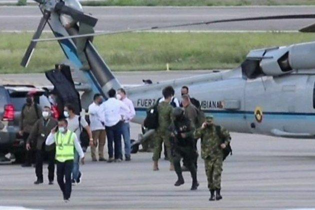 Колумбія пропонує винагороду в майже $800 тис. за інформацію про тих, хто обстріляв вертоліт із президентом