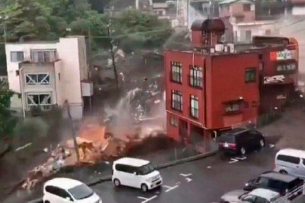 У Японії стався масштабний зсув. Десяток зруйнованих будинків та 20 зниклих безвісти