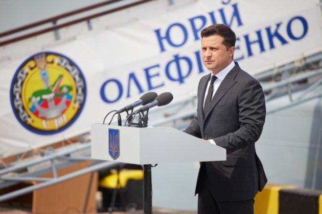 Зеленський розповів, як нарощуватиме потужність українського флоту