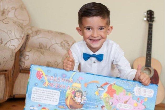 Шестирічний хлопчик зі Львівщини встановив рекорд України, назвавши 196 країн за 13 хвилин