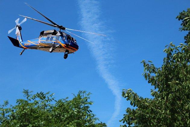 У Польщі в озеро впав гелікоптер із трьома українцями на борту