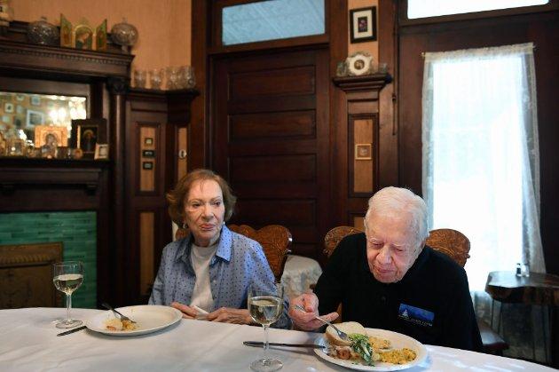 Джиммі Картер із дружиною відзначили 75-ту річницю шлюбу