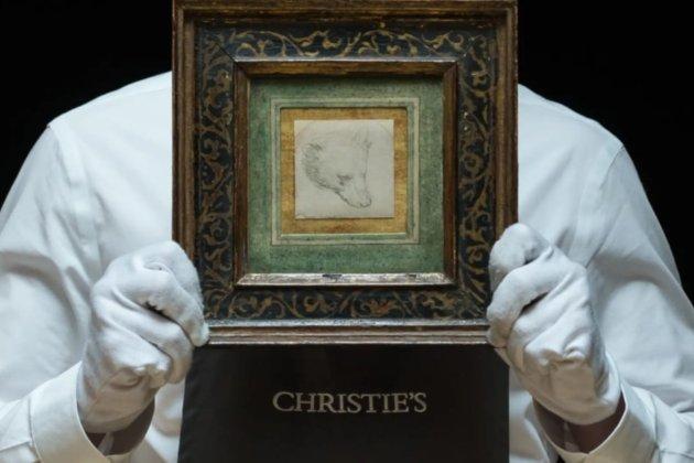 Крихітний малюнок Леонардо да Вінчі продали на аукціоні за рекордні $12 млн