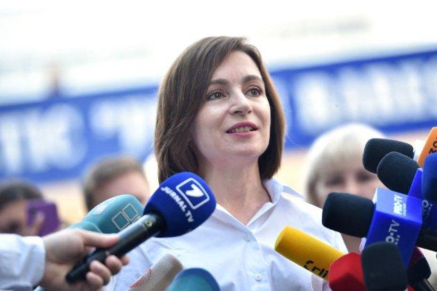 Партія Маї Санду впевнено перемагає на парламентських виборах у Молдові