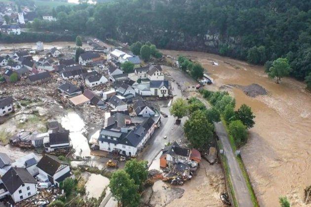 Масштабні повені у західній Європі. Число жертв зросло до 90, понад тисячу осіб зникли безвісти