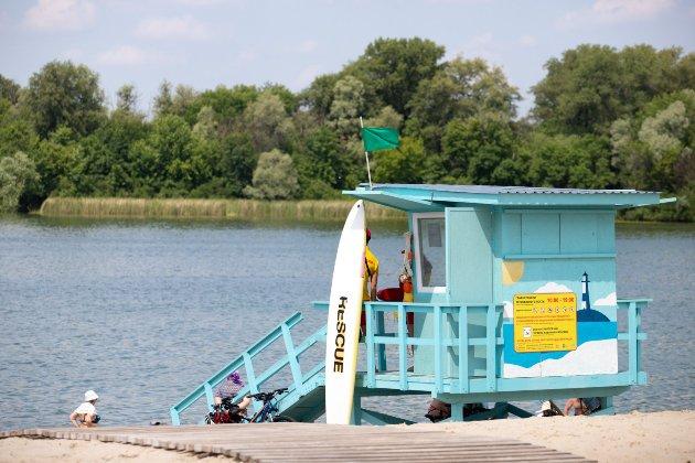 На київських пляжах заборонили купатися у зв'язку з аномальною спекою