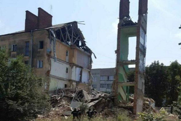 У Львівській області знову зруйнувався будинок, через обвалення якого два роки тому загинуло вісім людей