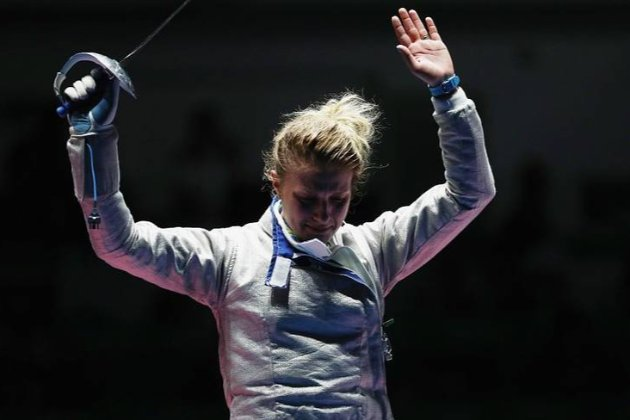 Впервые в карьере. Украинская фехтовальщица Харлан проиграла в первом же поединке в Токио