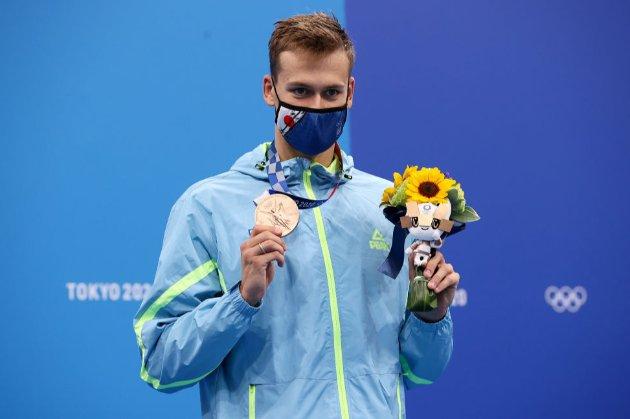 Украинский пловец Романчук взял «бронзу» на Олимпиаде
